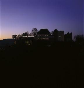 Schloss Südseite Nacht