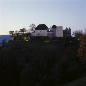 Schloss Südseite Abend