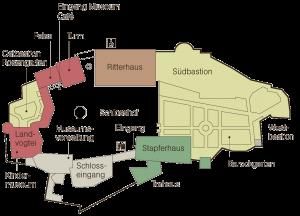 Schlossplan